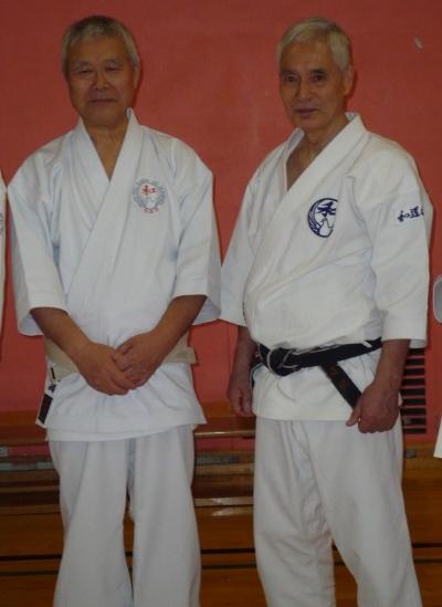 Shiomitsu sensei & Ohtsuka sensei