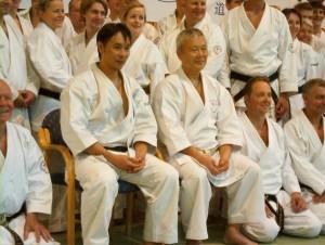 Kazutaka sensei & Shiomitsu sensei, Fredrikstad 2011