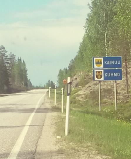 Matka Espoosta Kuhmoon on pitkä